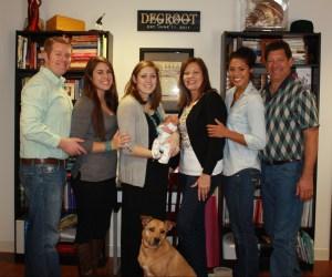 First Schwartz Family picture!