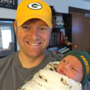 Future Packers fan!