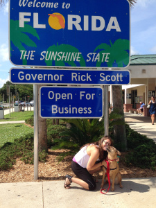 Stella made it to Florida :)