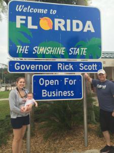 Back in Florida!