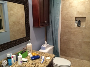 Our bathroom finished!